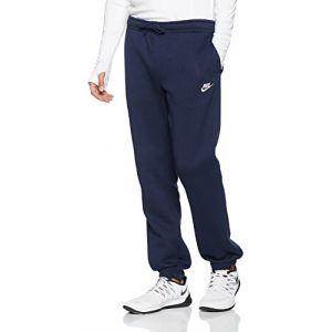 Nike Pantalon en tissu Fleece coupe standard Sportswear pour Homme - Bleu - Taille M - Male