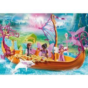 Playmobil 9133 Fairies - Bateau des Fées enchanté