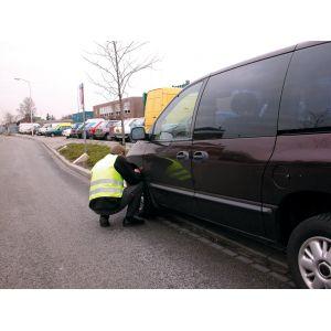 Carpoint Gilet de sécurité Oxford - Taille XL - Jaune