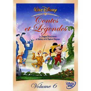 Coffret Contes et Légendes - Volume 6 :  Mickey et le Haricot Magique + Le Dragon Récalcitrant