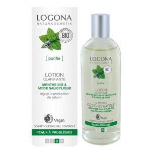 Logona Lotion clarifiante menthe bio & acide salicylique