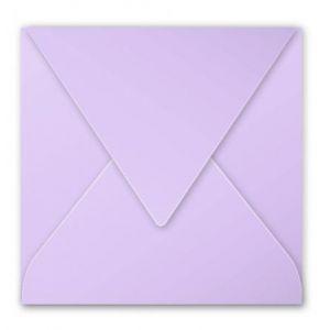 Clairefontaine 5183C - Enveloppe Pollen 165x165, 120 g/m², coloris glycine, en paquet cellophané de 20