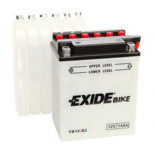 Exide Batterie moto YB14-B2 12v 14ah 180A