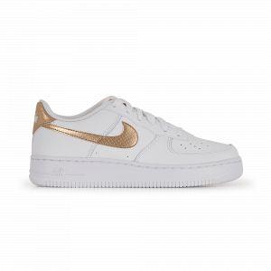 Nike Enfant Air Force 1 Ep Blanche Et Bronze Junior Baskets
