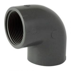 Codital Coude 90° PVC pression mixte FF C 0-11/4 de C Raccord PVC pression