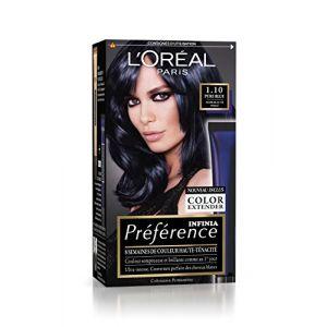 L'Oréal Préférence P12 Pure Blue - Noir bleuté Perlé