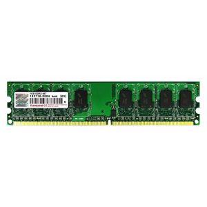 Transcend TS128MLQ64V6U - Barrette mémoire 1 Go DDR2 667 MHz CL5 240 broches