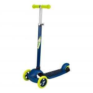 Nijdam Trottinette 3 roues - Enfant - Bleu
