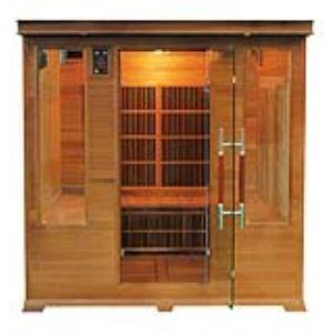 Image de France Sauna Luxe Club 4/5 - Sauna cabine infrarouge pour 4/5 personnes