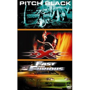 Coffret Best of Vin Diesel - Pitch Black + xXx + Fast and Furious