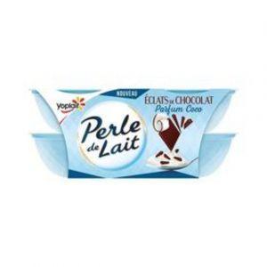 Yoplait Perle de lait choco coco 4x125g