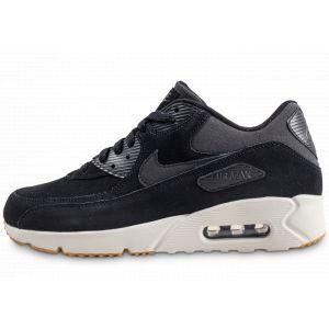 Nike Homme Air Max 90 Ultra 2.0 Ltr Noire Et Blanche Baskets