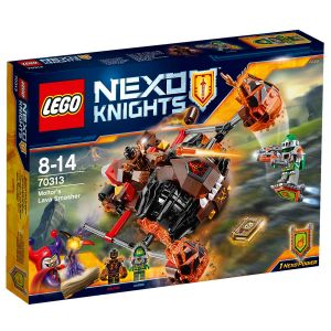 Lego Nexo Knights 70313 - L´écrase-lave de Moltor