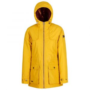 Regatta Bechette Waterproof and Breathable Insulated Veste Femme, Mustard Seed, Taille 44