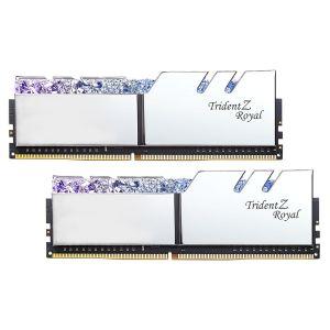 Image de G.Skill Trident Z Royal 16 Go (2x 8 Go) DDR4 3000 MHz CL16 - Argent
