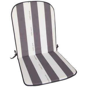 Jardin prive Coussins pour fauteuil de jardin avec nouettes (lot de 2) CANCALE