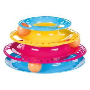 Trixie Tour de jeu en plastique pour chat - 1 jouet