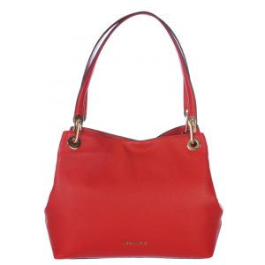 Michael Kors Sac Shopping Raven Cuir Rouge