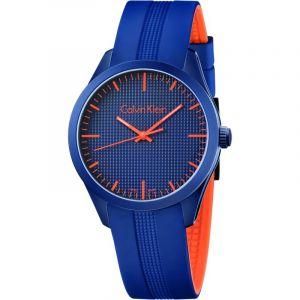 Calvin Klein Montre bracelet Mixte à Quartz Analogique Caoutchouc k5e51gvn