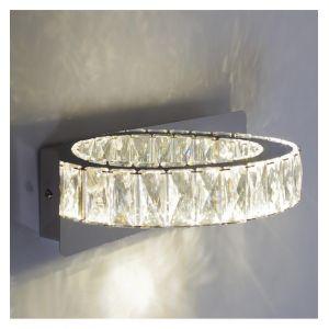Kosilum Applique LED cristal demi cercle design - Kuna
