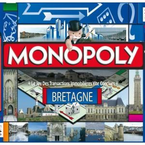 Image de Winning Moves Monopoly Bretagne