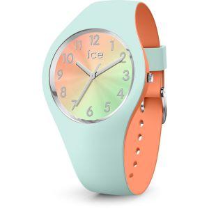 Ice Watch Ice-Watch - ICE duo chic Aqua coral - Montre verte pour femme avec bracelet en silicone - 016981