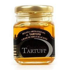 Giuliano Tartufi Miel d'acacia à la truffe - Pot 120g