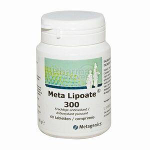 Metagenics Meta Lipoate - 60 comprimés