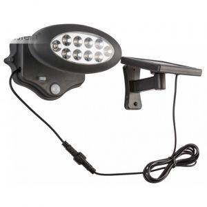 Globo Luminaire solaire moderne Á LED avec un senseur de mouvement