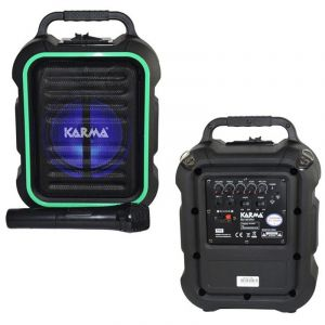 Karma Frais Haut-Parleur Actif Portable MP3 Bluetooth et Micro Main