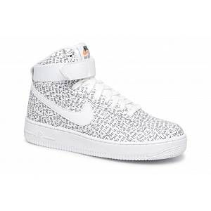 Nike Air Force 1 High Just Do It Lx Blanche Femme Baskets Femme