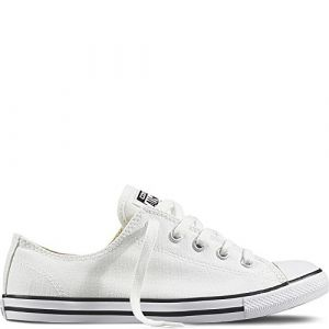 Converse Chuck Taylor CT As Dainty Ox Canvas, Chaussures de Fitness Femme, Blanc (White 100), 42 EU