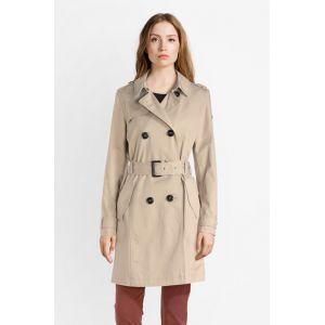 Esprit Trenchcoat aus Baumwolle mit Gürtel beige (128EE1G006-270)