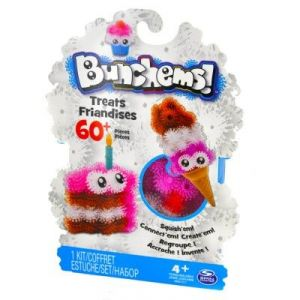 Spin Master Coffret Bunchems friandises (60 pièces)