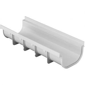 First Plast Caniveau PVC Pratiko Série 200 BAS - 200x500mm - Profondeur 115mm -