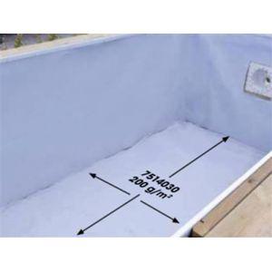 Ubbink Feutre de protection pour le fond de la piscine
