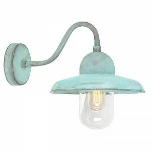 Elstead Applique Murale Somerton 1x100W - Vert-de-Gris - LIGHTING - somertonverdi