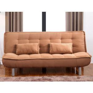Canapé clic-clac Mishan en tissu