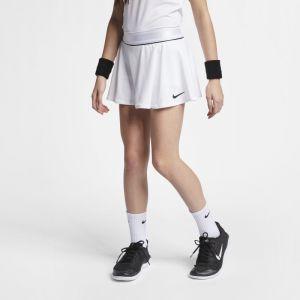 Nike Jupe de tennis Court pour Fille plus âgée - Blanc - Taille M - Female