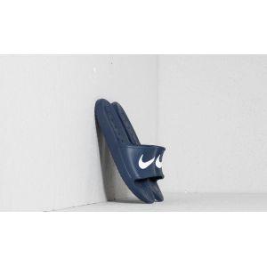 Nike Kawa Shower, Chaussures de Plage et Piscine Homme, Bleu (Midnight Navy/White), 41 EU