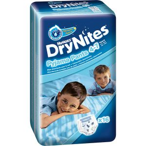 Huggies Dry Nites Pyjama Pants 4-7 ans - 16 couches