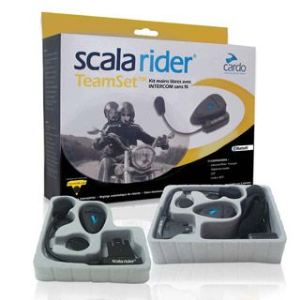 Cardo Scala Rider - Audio Kit Mp3 Xl Pour Casque Jet