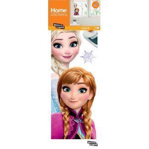 Sticker fenêtre La Reine des neiges Anna Elsa