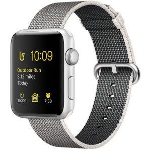 Apple Watch 38 mm séries 2 - Montre connectée Boîtier alu avec Bracelet nylon