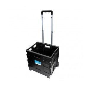 Silverline 633400 - Chariot-caisse pliant 25 kg