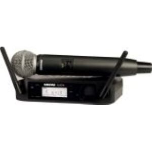 Shure GLXD24/SM58-Z2 - Système sans fil numérique