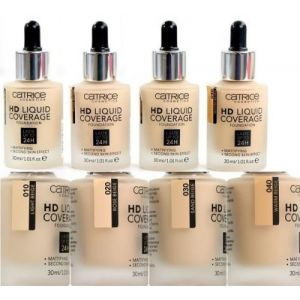 Catrice Fondation HD Liquid Coverage: 010 Light Beige - 30 ml