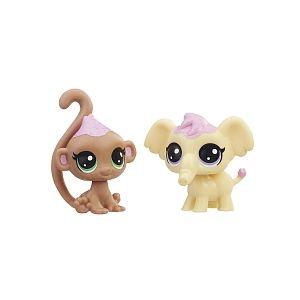 Image de Hasbro Littlest PetShop - Pack de 2 PetShop Collection Sucrée (E1071)