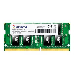 Adata Premier Series - DDR4 - 8 Go - SO DIMM 260 broches - 2400 MHz / PC4-19200 - CL17 - 1.2 V - mémoire sans tampon - non ECC