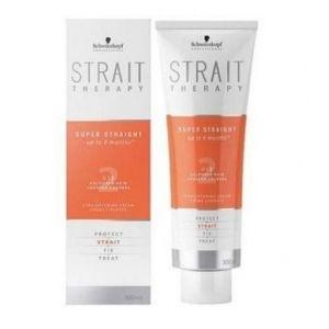 Schwarzkopf Strait Therapy - Crème lissante force 2